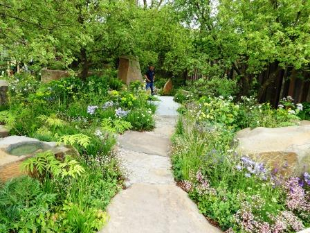 Cleve West and his MG garden Chelsea 2016 002 (1) COMP