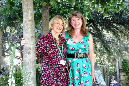 Fiona Cadwallader's The Poetry Lover's Garden in the Artisan category W