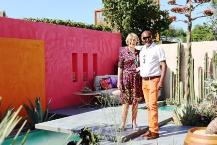 Manoj Malde and his Fresh garden for Inland Homes Beneath a Mexican Sky W