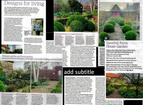 RHS FEB 2020 SHFH ARTICLE